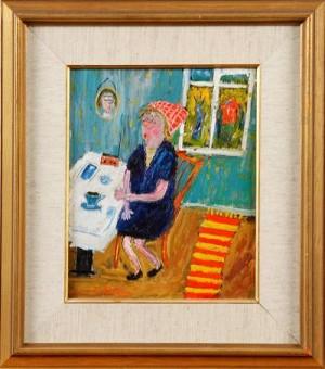Mormor Har Kaffepaus by Sven LIDBERG