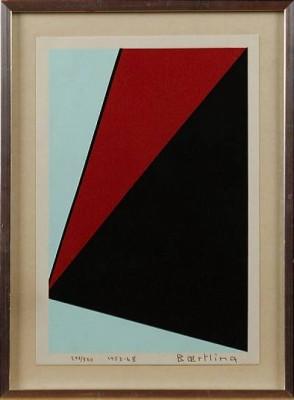 Ur Angles Of Baertling, 1968 by Olle BÆRTLING
