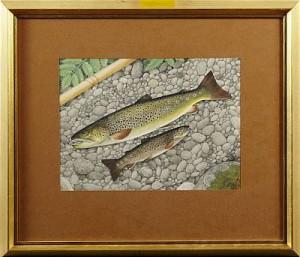 Fiskstilleben by Rolf LIDBERG