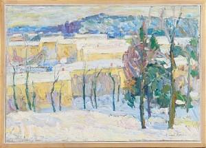 Landskapsmotiv by Einar ROSÉN
