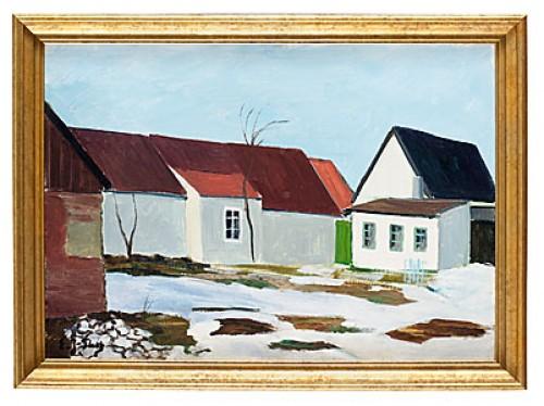 Vårvinter, Anderslöv by Emil 'E. J-Thor' JOHANSON-THOR