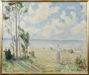 Sommar Vid Havet by Einar FORSETH