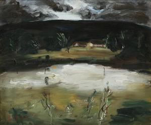 Landskap by Jonne BERGSTRÖM