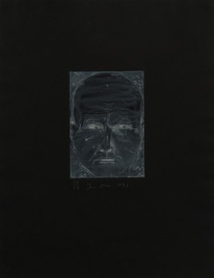 Self Portrait As A Negative by Jim DINE