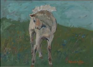 Häst I Landskap by Sigfrid BENGTSSON