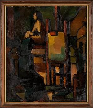 Kubistiskt Motiv by Rolf LIDIN