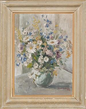 Blomsterstilleben by Ragnhild NORDENSTEN