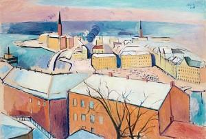 Utsikt Från Söder by Einar JOLIN
