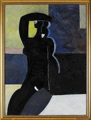Figur Mot Fana by Carl Eric BODÉN