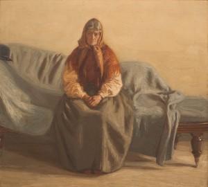 Portugisisk Kvinna I Soffa by Jonas ÅKESSON