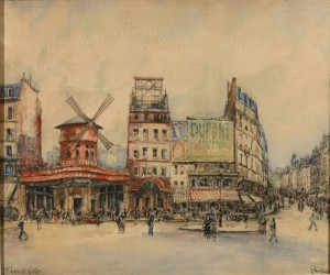 Le Moulin Rouge by FRANK-WILL