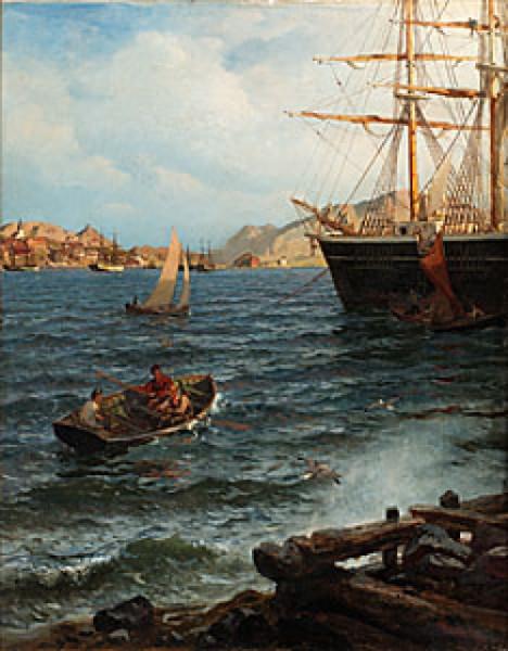 Hamninlopp by Hans Fredrik GUDE