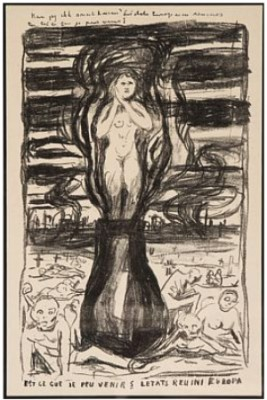 Europas Forente Stater Iii by Edvard MUNCH