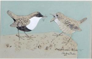 Fågelpar by Rolf SMEDMAN