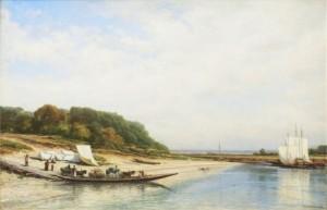 River Sura by Alexei Petrovich BOGOLIUBOV