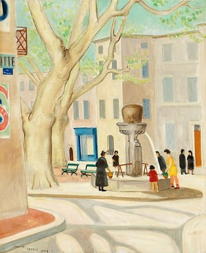 Torget I Cassis by Einar JOLIN
