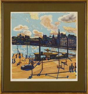 Motiv Från Skeppsbron by Bo LARSSON