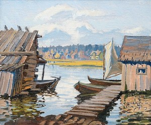 Archipelago View, åland-geta by Erik JUSELIUS