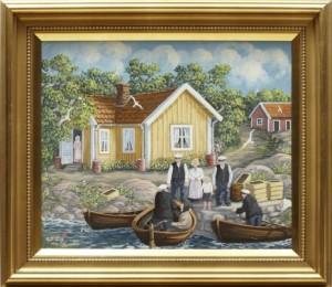 Skärgårdsfolk by Bert Håge HÄVERÖ