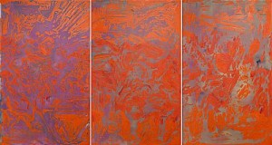 Untitled, Triptyk by Johan SCOTT