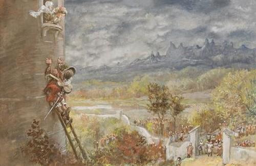 Prinsessan I Tornet by Robert HÖGFELDT