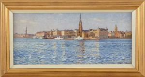 Riddarholmen by Gunnar WIDFORSS