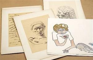 (10) Teckningar Och Akvareller by Ingegerd TORHAMN