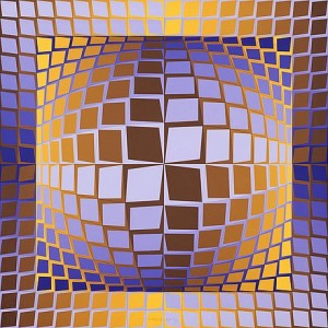 Zett-p by Victor VASARELY
