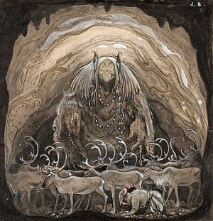 Nilas Offer, Julbocken (ii) by John BAUER