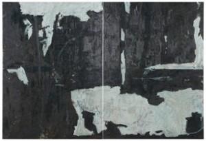 Monokrom Komposition. Två Dukar by Tommy HILDING