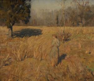 Autumn Field by William Langson LATHROP