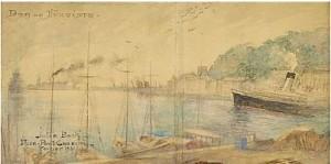Hamnen I Nice, Port Cassini by Julia BECK