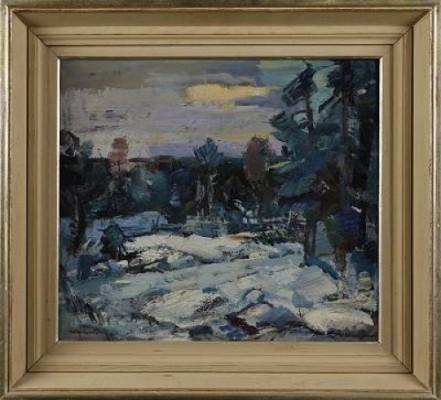 Vinterdag by Hugo CARLBERG