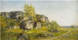 Klipplandskap by Severin NILSON