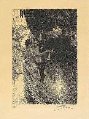 Valsen by Anders ZORN