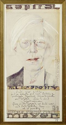 Andy Warhol by Horst JANSSEN