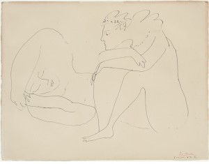 Le Repos by Pablo PICASSO