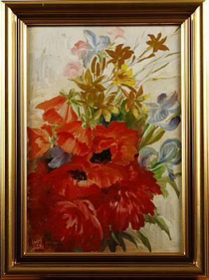 Blomsterstilleben by Alice NORDIN