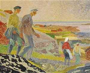 Fiskare På Ungskär - Blekinge Skärgård by Gunnar TORHAMN