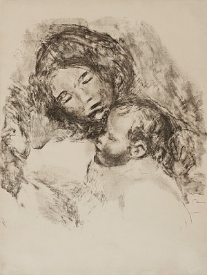 Maternité by Pierre Auguste RENOIR