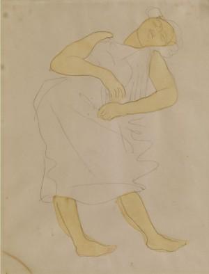 Schlafende by Auguste RODIN