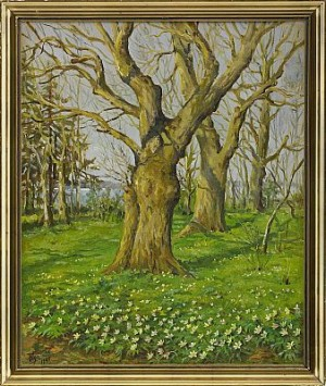 Spring Landscape by Olga Grand Duchess ALEXANDROVNA