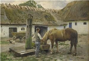 Hästen Vattnas by Peder MÖNSTED