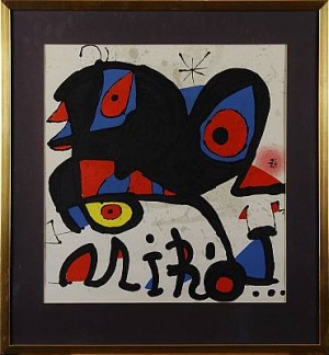 Komposition by Joan MIRO