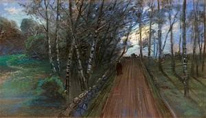 Sommarnatt by Olof SAGER-NELSON