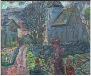 Adelsö Kyrka by Olle NORDBERG