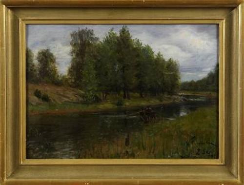 Wäddö Kanal by Waldemar LINDHOLM