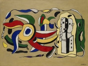 Composition Murale by Fernand LEGÉR