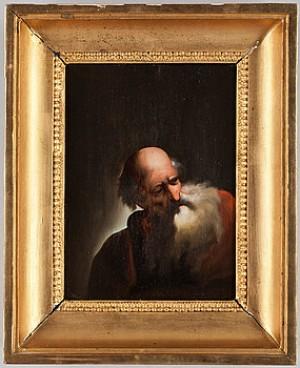 (2) Motiv Av Två äldre Män I Helskägg by Rembrandt Harmenszoon Van RIJN