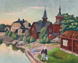 View Of Fagervik by Marcus COLLIN